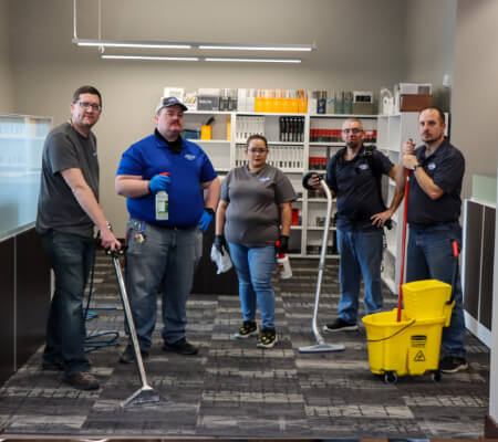 Optimal Prime Cleaning staff picture